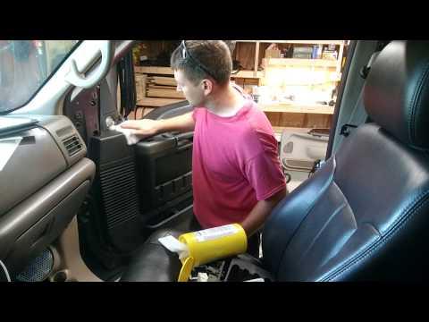 Superduty Door Panel Swap