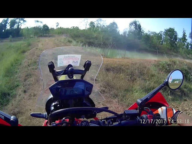 CRF250L Rally suspension TEST | TravelerBase | Traveling