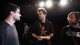 Texthänger bei Theaterprobe