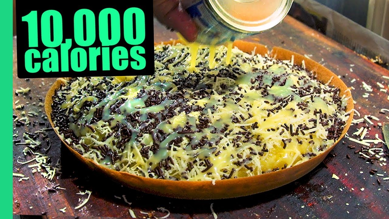 Jakarta Street Food Tour! GOD LEVEL Martabak and Jakarta's BEST Street Food!
