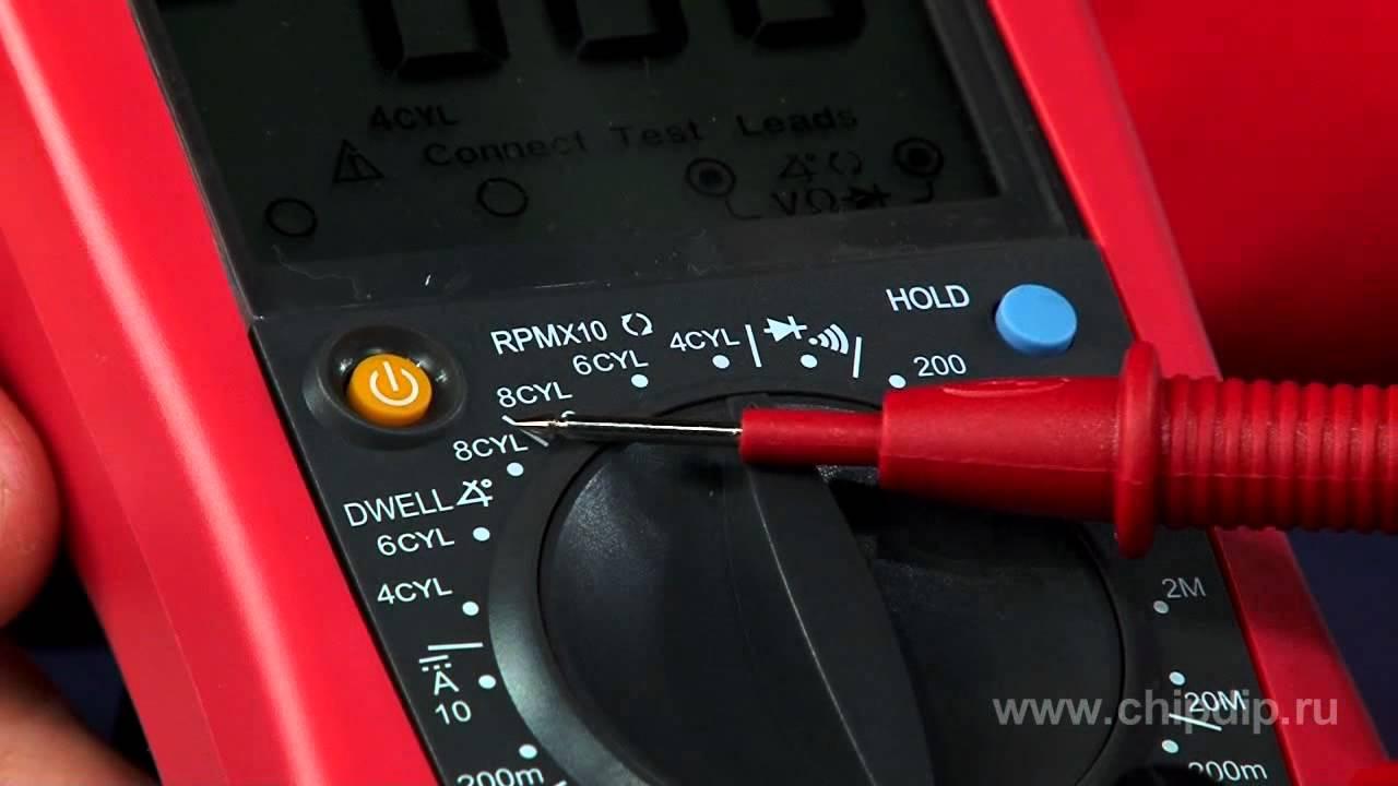 UNI-T UTM 1139C (UT139C) - лучший мультиметр для измерения емкости .