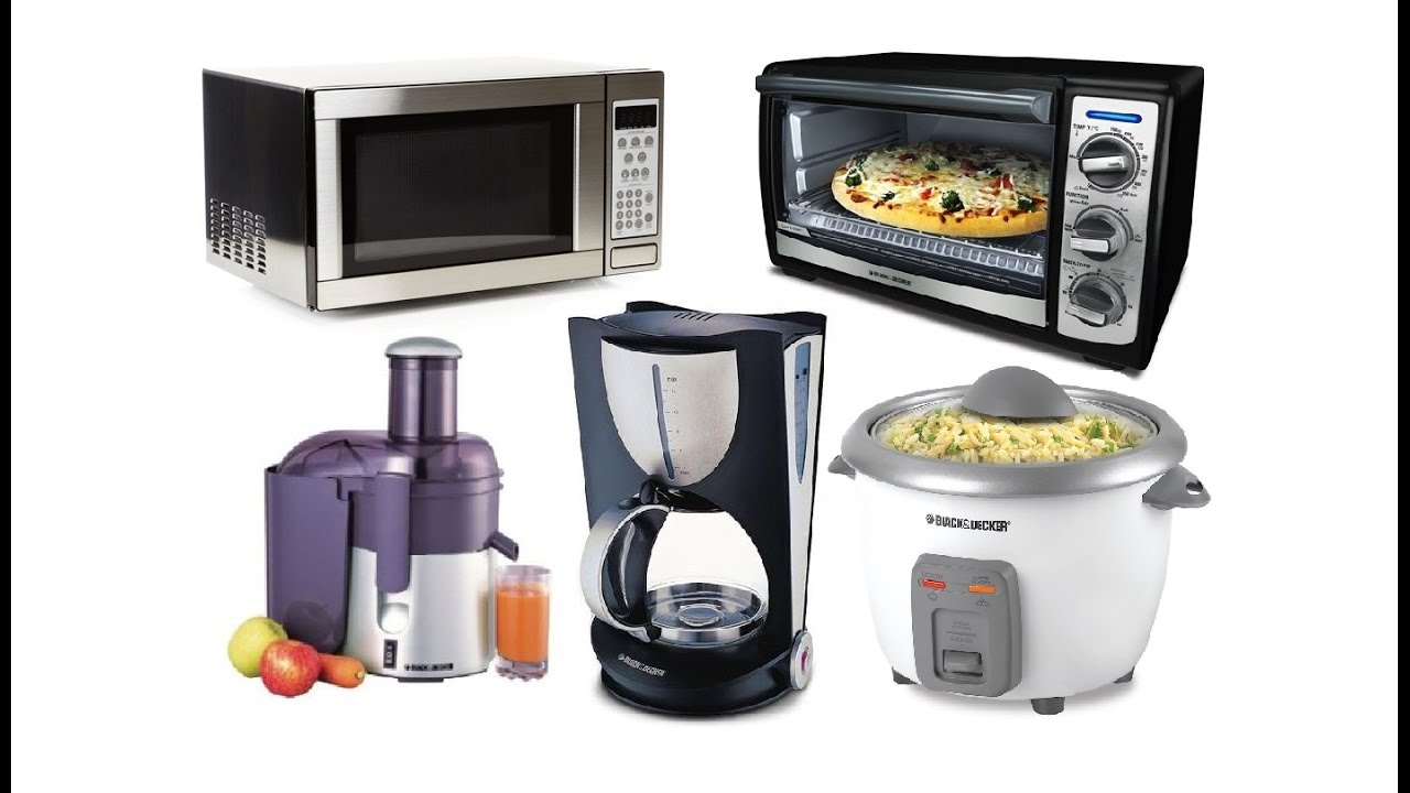 Modern Kitchen Appliances List