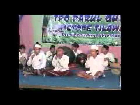 YA MUHAMMAD-VINA-ANNABI SHOLLU ALAIH-YA IMAMARRUSLI    AL UZMA PPNU (live TPQ DARUL QURAN) jaken