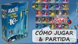 Asalto a la torre del mago en 10 minutos: Cómo jugar & partida