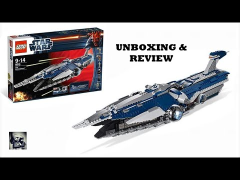 UNBOXING ET REVIEW DU MALVEILLANT / SET LEGO STAR WARS 9515