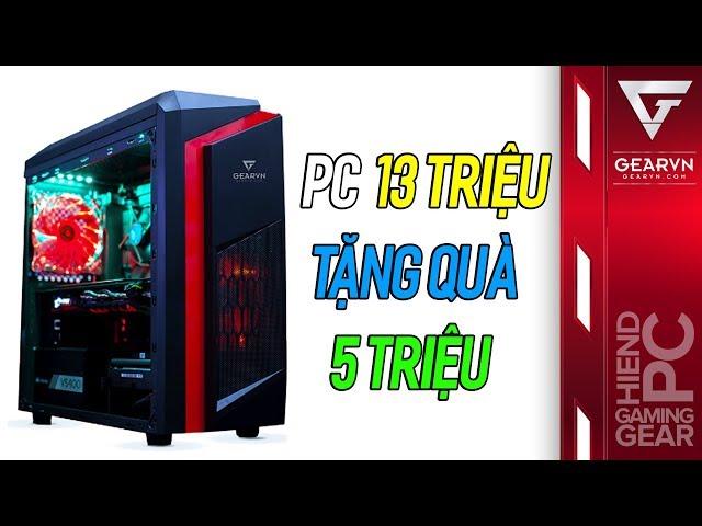 PC Gaming 13 triệu gồm cả bàn phím cơ , tai nghe và chuột chiến mọi game online hot
