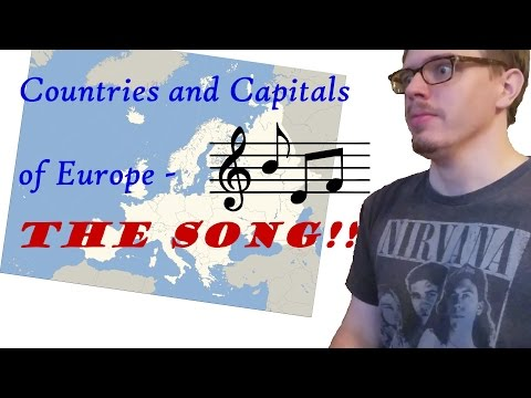 ALL Countries and Capitals of Europe... IN SONG!