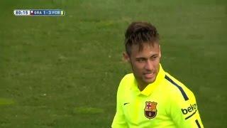 Granada vs Barcelona 1-3 All Goals & Highlights 28.02.2015