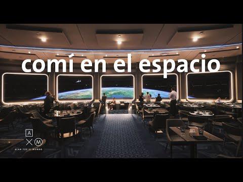 Comí en el espacio! 4k   Alan por el mundo