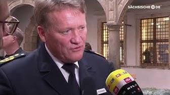 Dresden Polizeichef Jörg Kubiessa zum Kunstraub im Grünen Gewölbe