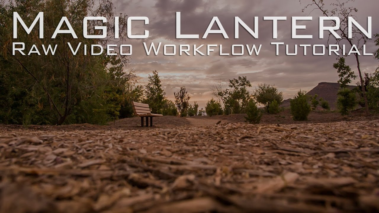 How To Create Easy HDR Video Look Magic Lantern Tutorial - 14 bit RAW Video  Workflow Tutorial - 5D3