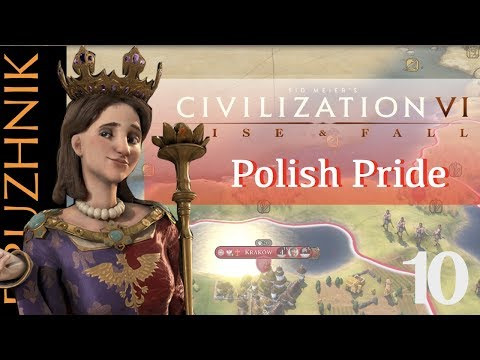 An Uncomfortable Peace   Polish Pride 10   Civilization VI: Rise & Fall   Emperor
