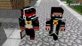 Мистик и Лаггер - Анекдот про пакет (Minecraft Мультики)
