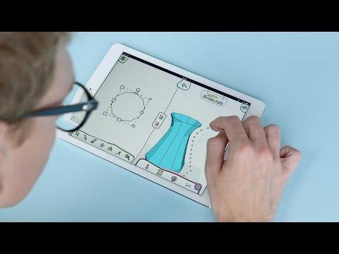 Doodle3D Transform - 3D design made easy: Kickstarter video