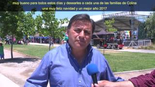 NOTA ALCALDE DE COLINA ENTREGA REGALOS A NIÑOS DE LA COMUNA