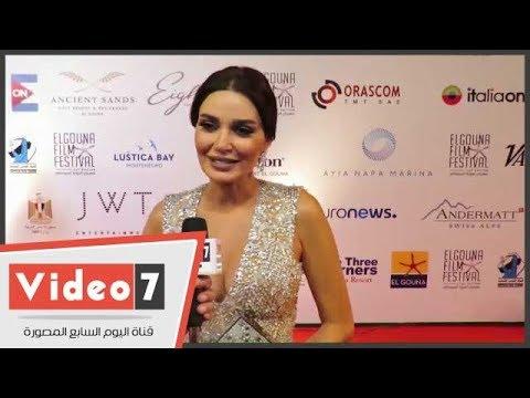 سيرين عبد النور: عادل امام تميمة حظ .. وانتظرونى باغنية لبنانية شعبية