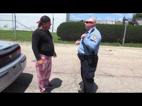 Police Chase with Donnie Baker Caught on Tape