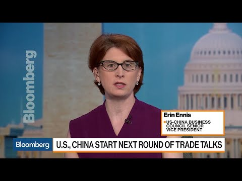 U.S.-China Business Council's Ennis Previews Next Round of Trade Talks