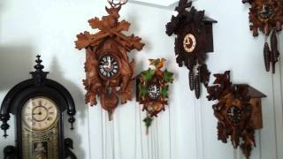 Repeat youtube video My complete Clock Collection - 08/15