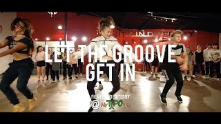 """Justin Timberlake - """"Let the Groove Get In"""" 