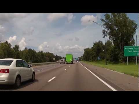 Drive from Walt Disney World to the Orlando International Airport (MCO)