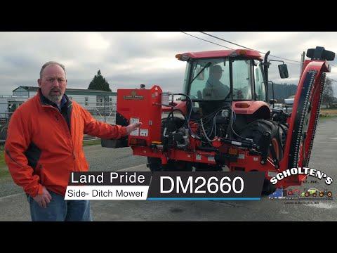 Landpride DM2660 Side Ditch Mower