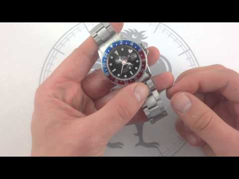 "Rolex Oyster Perpetual GMT-Master 1675 ""Pepsi"" Luxury Watch Review"