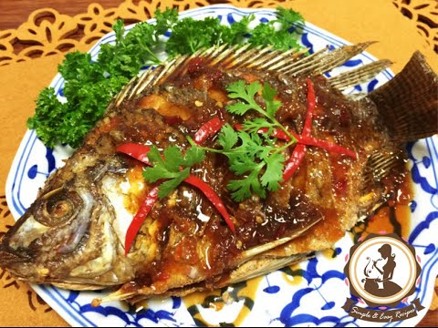ปลาราดพริกสามรสง่ายๆbyแหม่ม