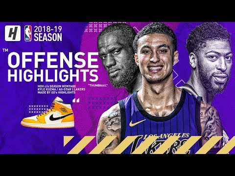 Kyle Kuzma BEST Lakers Highlights & Moments From 2018-19 NBA Season! The FUTURE!
