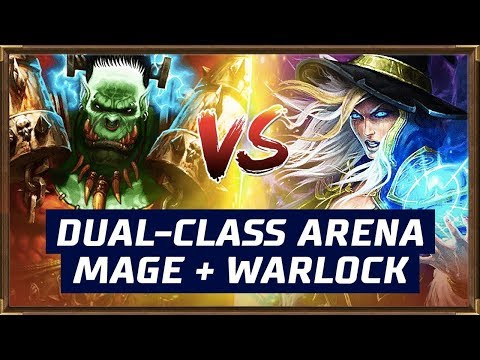 Dual-Class Arena (Mage + Warlock)| The Boomsday Project | Hearthstone