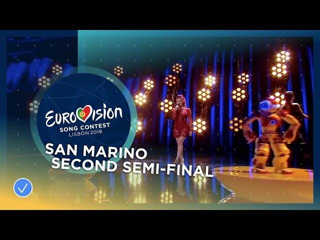 Jessika feat. Jenifer Brening - Who We Are - San Marino - LIVE - Second Semi-Final - Eurovision 2018