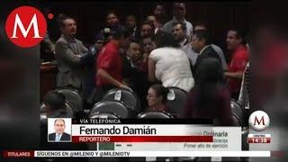 Video Suspenden sesión en San Lázaro tras asesinato de hija de diputada download MP3, 3GP, MP4, WEBM, AVI, FLV November 2018