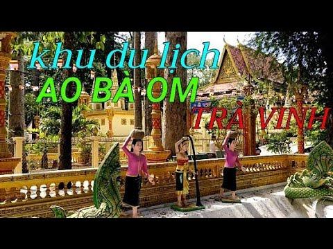KHU DU LỊCH AO BÀ OM TRÀ VINH   MINH TRUNG