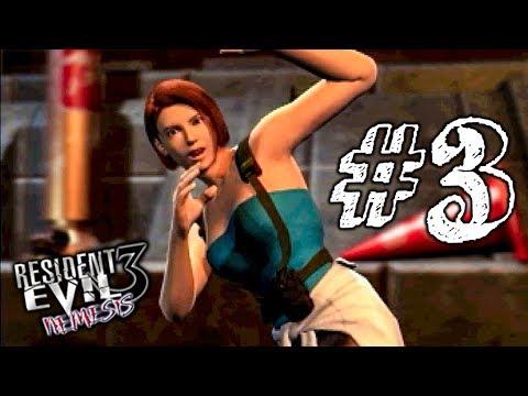 ТЫ ЧЁ ТВОРИШЬ?! ► Resident Evil 3: Nemesis Прохождение #3 ► ХОРРОР ИГРА