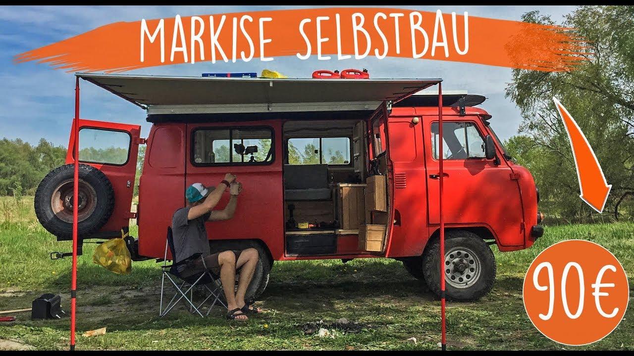 MARKISE Wohnmobil Selbstbau für 10€ - aus Russland  EP 10