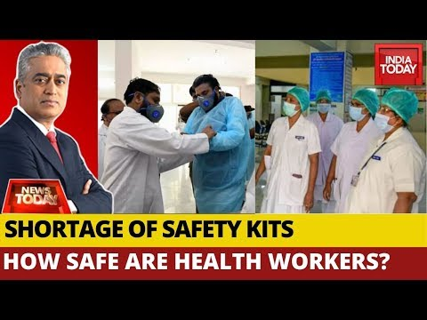 Do Health Workers Have Adequate Protective Gear To Battle Coronavirus?   News Today With Rajdeep