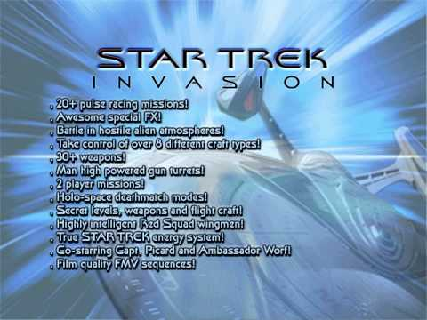 All Star Trek: Invasion In Game Speech/Music
