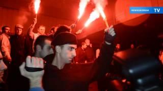 Акция против турецких и иранских ресторанов в Тбилиси(В Тбилиси в ночь на 11 ноября прошла акция протеста, участники которой требовали закрыть в столице Грузии..., 2013-11-11T20:30:25.000Z)