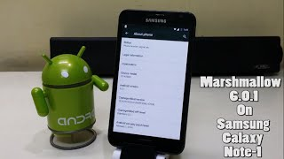 Install Android 6.0.1 Marshmallow (CM 13) on Samsung Galaxy Note 1