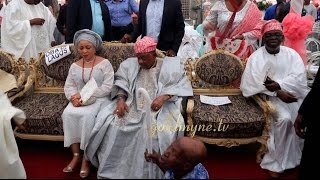 AWUJALE'S DAUGHTER'S WEDDING WITH ALAAFIN, OBA AKINOLU, AMOSUN, DANGOTE