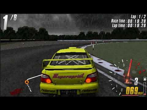 PSP Gameplay: ToCA Race Driver 3