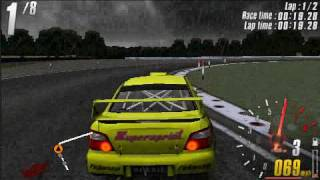 PSP Gameplay: ToCA Race Driver 3