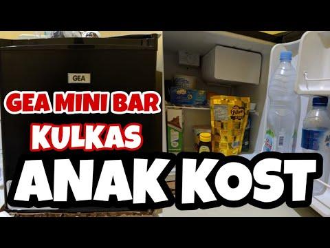 KULKAS GEA MINI BAR RS 06-DR  / KULKAS ANAK KOS / KULKAS PORTABLE
