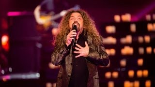 Mitchell Anderson Sings To Love Somebody: The Voice Australia Season 2