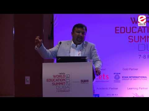WES 2016 Dubai - Sumit Shukla, Senior VP, MS Dynamics practice head, Apar Technologies