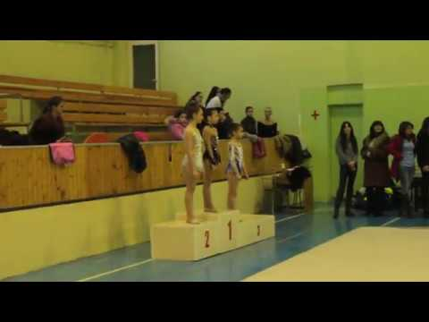 Чемпионат Армении по художественной гимнастике /Церемония награждения-W/A