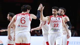 Türkiye - Çekya / FIBA Olimpiyat Elemeleri/ Kanada | 01.07.2021