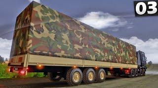 Carga Militar - Euro Truck Simulator 2