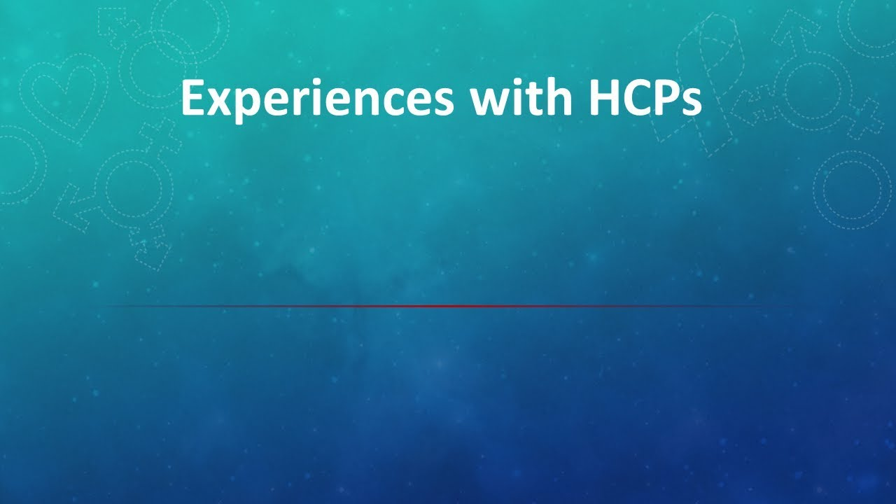 ELEVATE  - Toolbox Patient Videos -Experiences with HCP