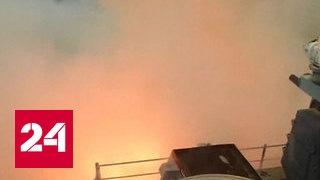 Пентагон подтвердил удар по аэродрому в Сирии